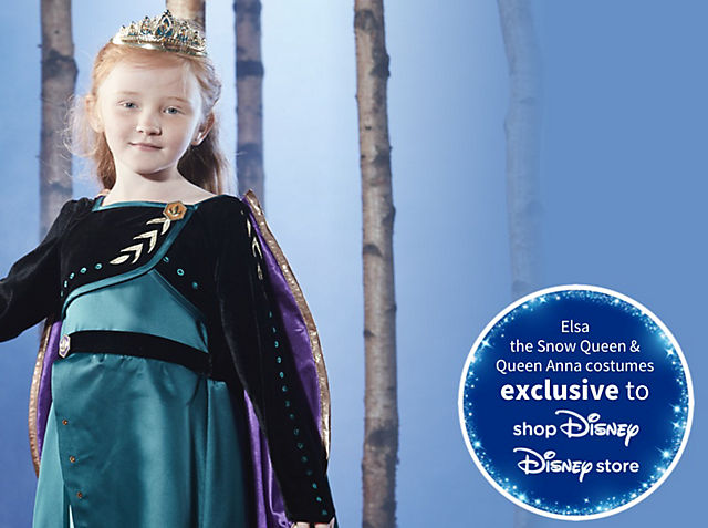 Frozen 2 Fancy Dress Discover our magical costumes from Arendelle SHOP NOW