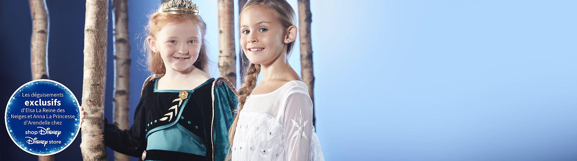 Déguisements La Reine des Neiges 2 Découvrez les nouvelles robes venue spécialement d'Arendelle