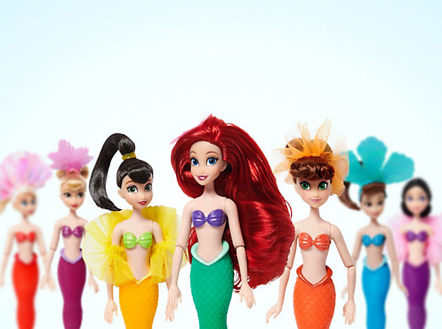 Set de muñecas de Ariel y sus hermanas ¡La diversión bajo el marestá asegurada! COMPRAR