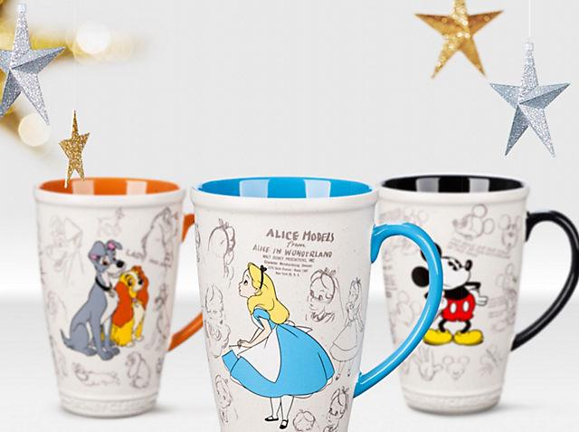 Faites bouillir l'eau Nos mugs animés sont les compagnons parfaits pour le goûter VOIR LA COLLECTION