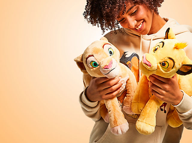 Wild Yet Cute! Discover our cute and soft The Lion King soft toys SHOP NOW