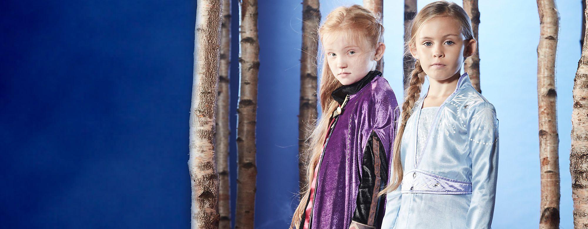 Disfarces Frozen 2 Descobre os nossos disfarces mágicos de Arendelle COMPRAR