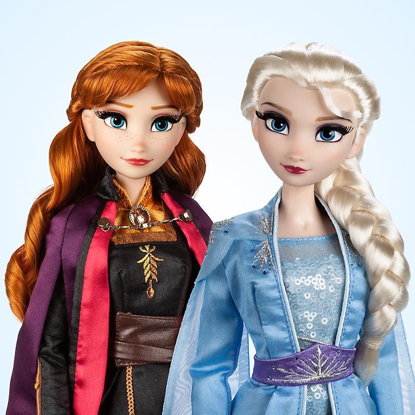 Poupées La Reine des Neiges 2 en édition limitée Sortie le 26 novembre