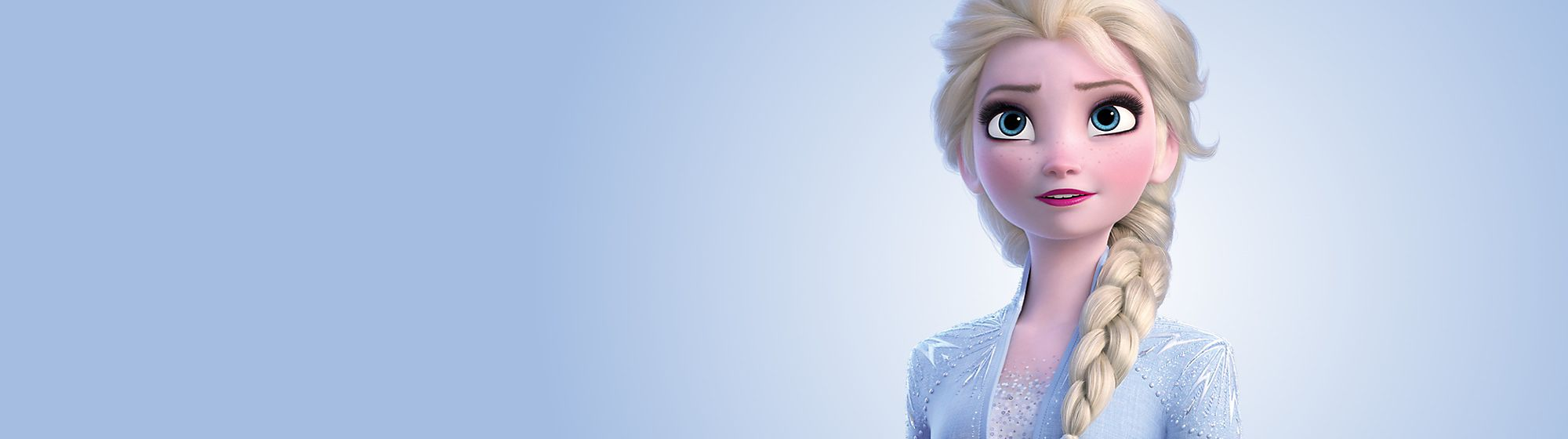 Elsa Entra nel mondo di Arendelle con gli esclusivi costumi, le bambole e gli accessori dedicati ad Elsa di Frozen Il Regno di Ghiaccio
