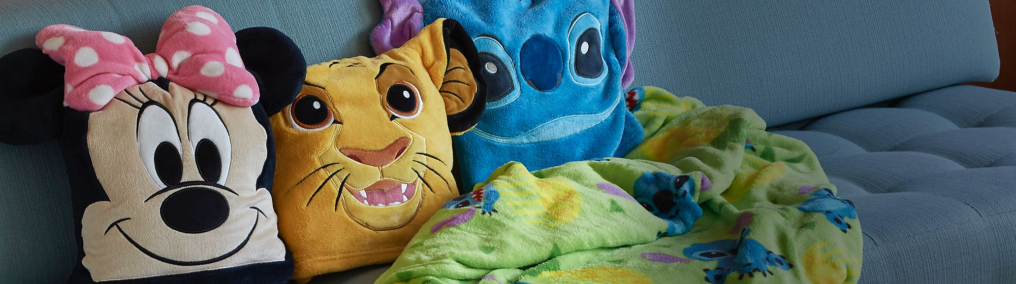 Cushions Add some magic to your home with our range of Disney, Pixar, Star Wars and Marvel cushions