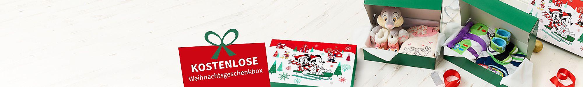 Kostenlose Weihnachtsgeschenkbox wenn du zwei beliebige Artikel  aus der Kategorie Schlaf-Shop kaufst JETZT KAUFEN