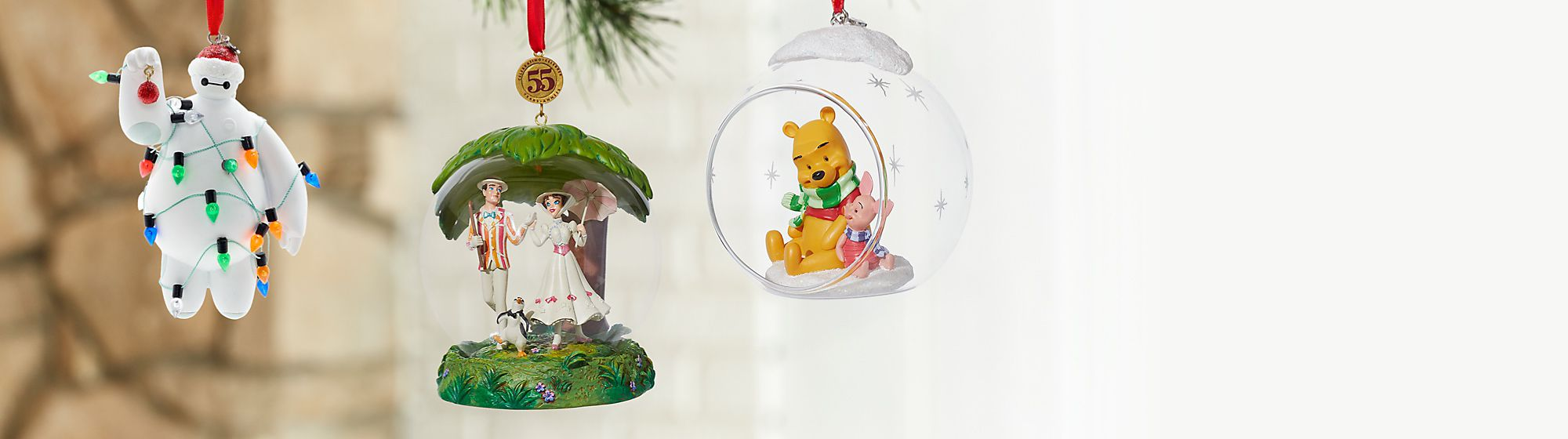 Christmas Ornaments 3 for 2 on selected lines