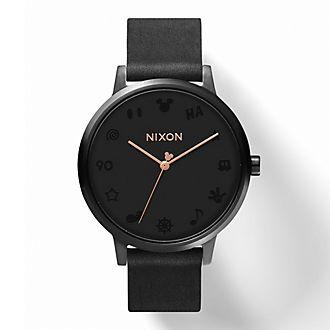 Reloj Kensington Leather Mickey Mouse para mujer, Nixon