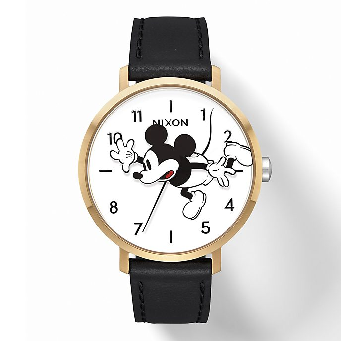 Nixon Montre Arrow Leather Mickey Mouse pour femmes