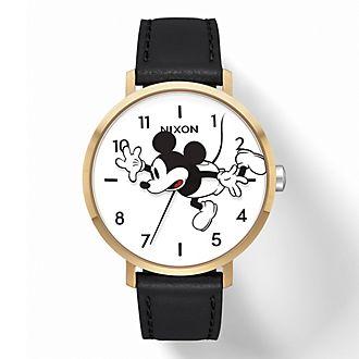 Nixon Montre Arrow Leather Mickey Mouse pour femmes