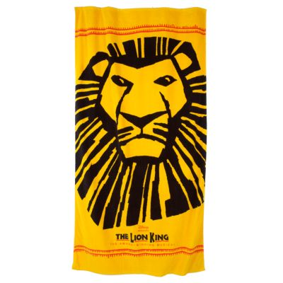 The Lion King Musical Collection Logo Towel