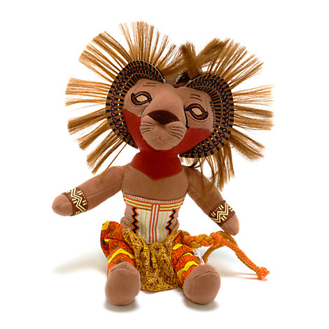 Der König der Löwen Musical Collection - Simba Kuscheltier (30 cm)