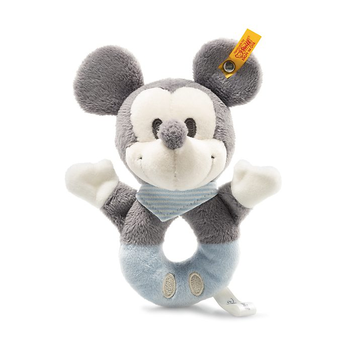 Steiff Mickey Mouse Baby Rattle