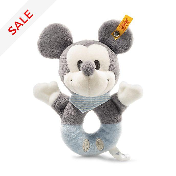 Steiff - Micky Maus - Babyrassel