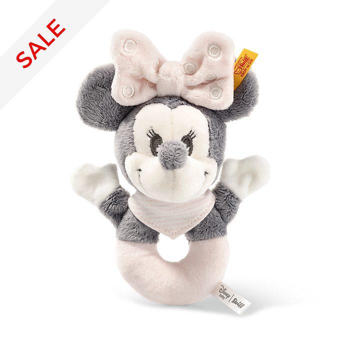 Steiff - Minnie Maus - Babyrassel