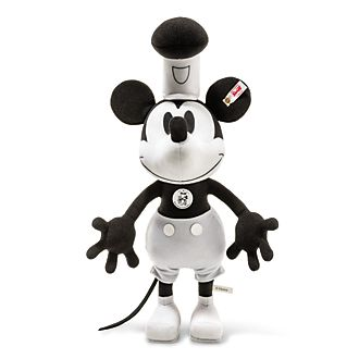 Steiff Peluche à collectionner Steamboat Willie Mickey Mouse