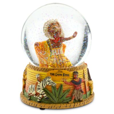 The Lion King Musical Collection Snow Globe