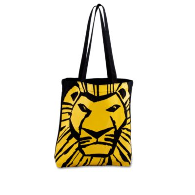 The Lion King Musical Collection Canvas Tote Bag