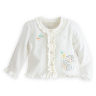 Thumper Layette Baby Fancy Dress And Cardigan Set
