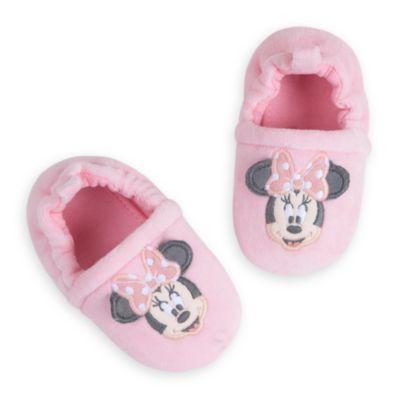 Minnie Mouse Layette babysæt med pyjamas og sutsko