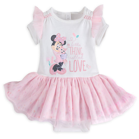 Minnie Mouse Layette Baby Tutu Body Suit