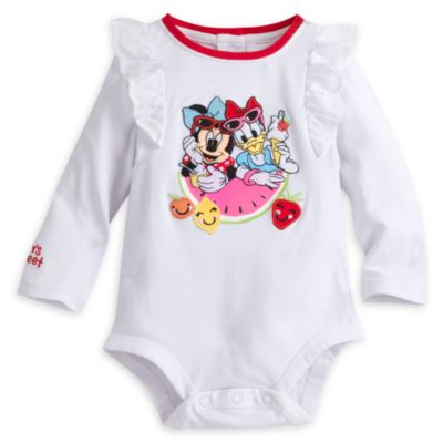 Minnie Mouse Baby Body Suit and Skirt Set