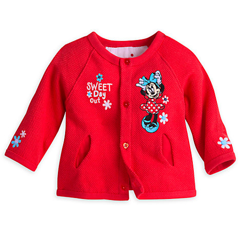 Minnie Maus – Strickjacke für Babys