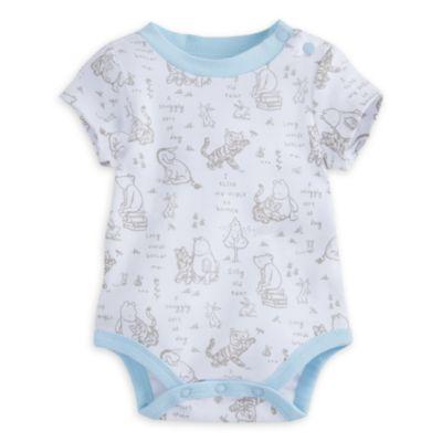 Winnie Puuh – Set mit Latzhose und Body für Babys