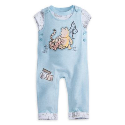 Winnie the Pooh Baby Dungaree Set