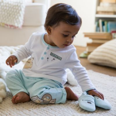 Winnie Puuh – Set mit Pyjama und Hausschuhen für Babys