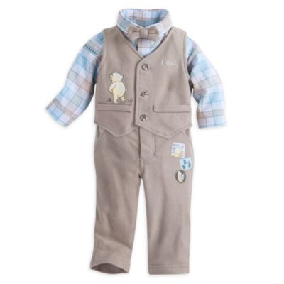 Winnie the Pooh Baby Waistcoat and Trousers Suit Set