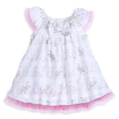 Winnie the Pooh Baby Party Dress