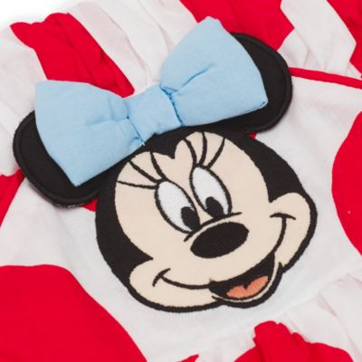 Minnie Maus - Set mit Babykleid, Slip und Stirnband
