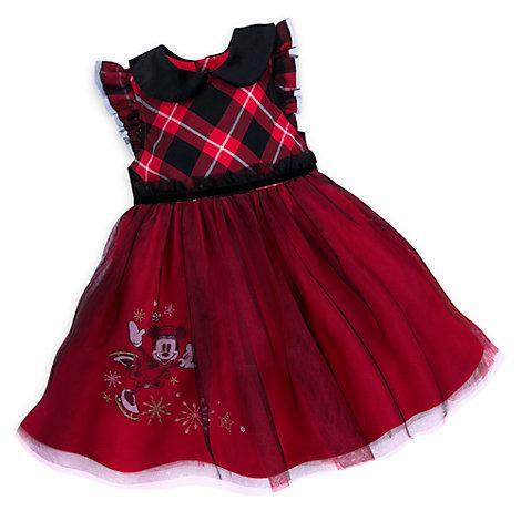 Completo neonato vestitino e mutandine eleganti Minni