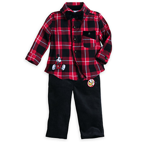Micky Maus und Freunde - Set mit Hose und Hemd für Babys