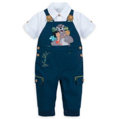 Conjunto de peto y camisa del Libro de la Selva para bebé