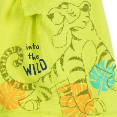 Ensemble T-shirt et short Le Livre de la Jungle pour bébés