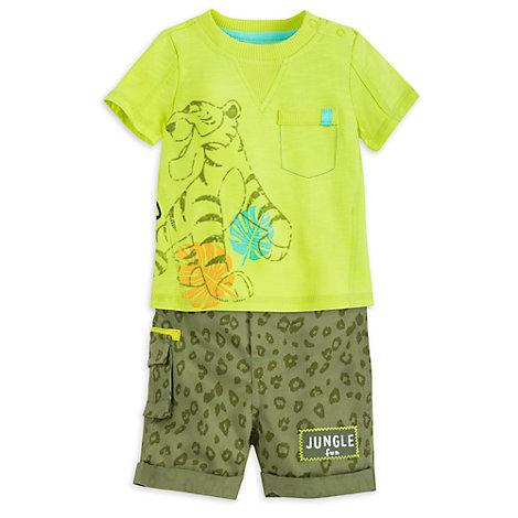 Das Dschungelbuch - Set aus Oberteil und Shorts für Babys