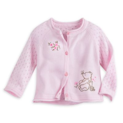Winnie Puuh – Strickjacke für Babys