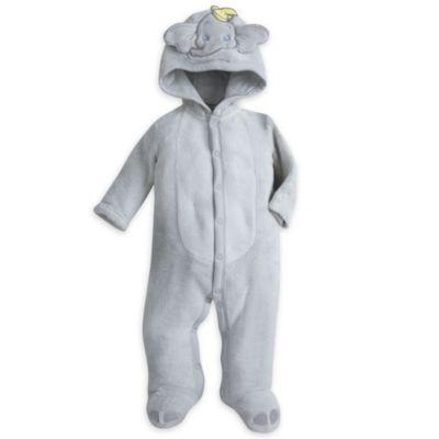 Dumbo sparkedragt i fleece til baby