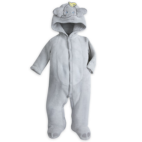 Dumbo Fleece Baby Romper