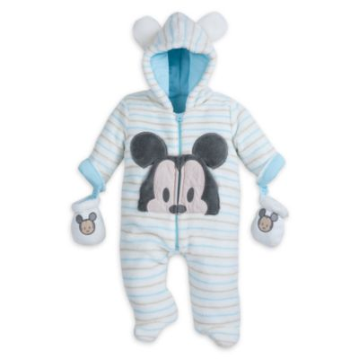 Mickey Mouse Baby Snugglesuit