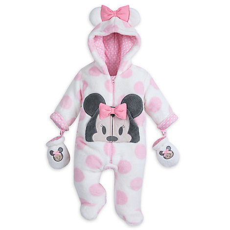 Minnie Mouse Baby Snugglesuit