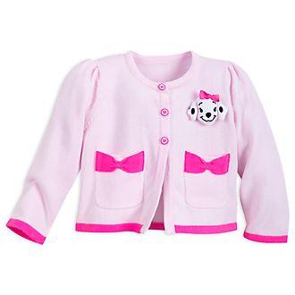 Cardigan Les 101 Dalmatiens rose pour bébé, Disney Store