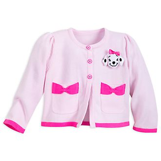 Disney Store 101 Dalmatians Pink Baby Cardigan