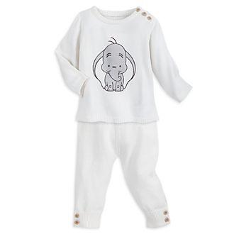 Conjunto camiseta y pantalón punto Dumbo para bebé, Disney Store