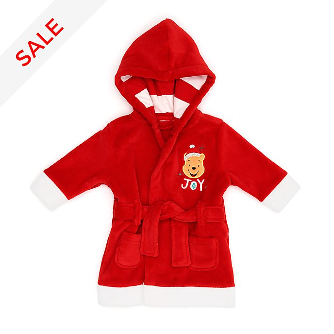 Disney Store Winnie the Pooh Share the Magic Baby Dressing Gown