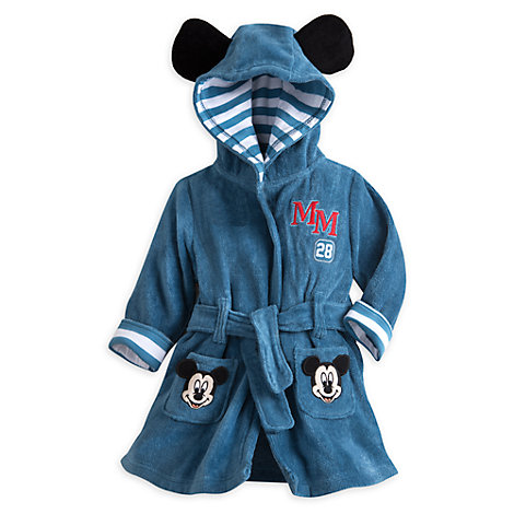 Mickey Mouse Hooded Baby Robe
