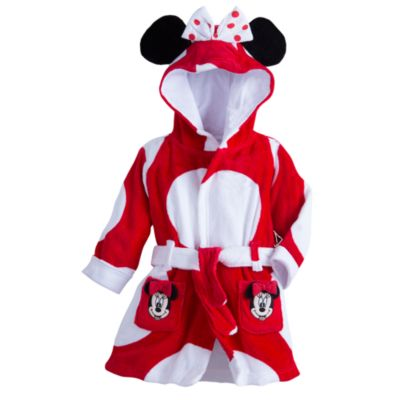 Minnie Mouse Hooded Baby Robe