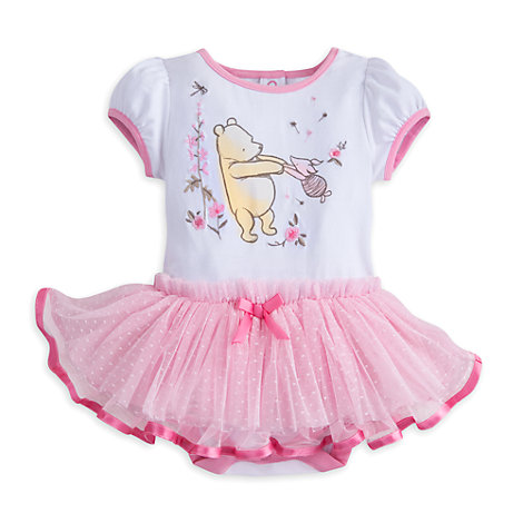 Winnie the Pooh Baby Tutu Body Suit